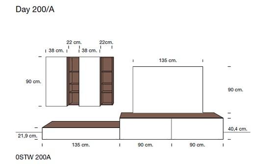 Гостиная Мебель С Размерами